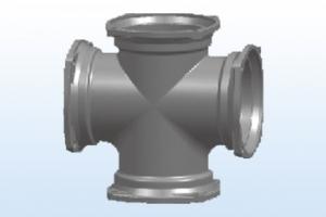 柔性铸铁管用处多防火防噪有耐用