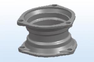 铸铁排水管材真实作为一个工业才崛起的