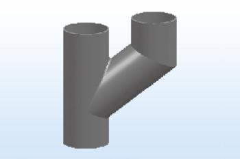W型y(h)通气管