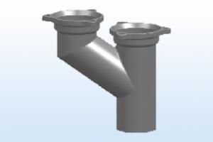 A型Y透气管