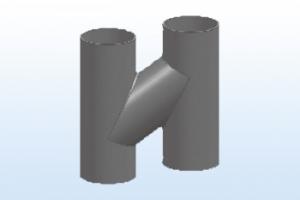 W型H通气管